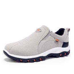 $enCountryForm.capitalKeyWord UK - 2019 Spring Summer Out door Loafers Sneakers For Men Shoes Breathable Suede Male Footwear Walking comfortable Slip-On