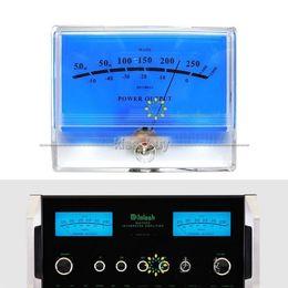 Freeshipping 1PCS x VU Meter DB Level Header Audio Power Amplifier Indicator Meter DB Table blue