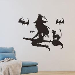 $enCountryForm.capitalKeyWord Australia - 20190621 Halloween witch bat wall with haunted house, shopping mall, cinema decoration