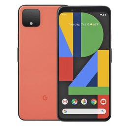 """Original Google Pixel 4 XL 4G LTE Cell Phone 6GB RAM 64GB 128GB ROM Snapdragon 855 Octa Core Android 6.3"""" OLED Screen 16.0MP Face ID NFC IP68 Smart Mobile Phone on Sale"""