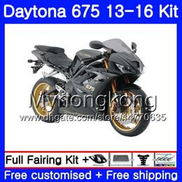 Dark blue matte online shopping - Bodys For Triumph Daytona Stock matte hot Bodywork HM Daytona675 Daytona Daytona Fairing