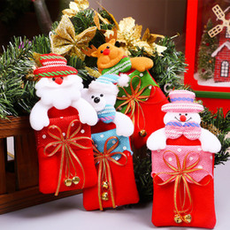 $enCountryForm.capitalKeyWord Australia - Santa Sacks Christmas Gift Bags Candy Storage Box Decorations for Home Biscuit Casual Storage Jar Christmas Tree Ornaments