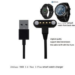 $enCountryForm.capitalKeyWord Australia - Zeblaze THOR 4 Thor 4 Plus Smart Watch 65cm Length Charging Cable charger with Port Magnetic USB Power cable Charging wire