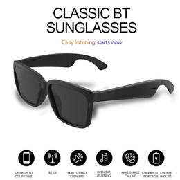Top Oem Wireless Audio Bluetooth Sunglasses Headphones With Open Ear Technology Make Hands Free Bluetooth Glasses on Sale