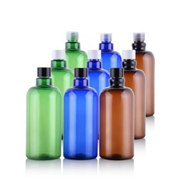 $enCountryForm.capitalKeyWord Australia - 16 oz 500ml Refillable Empty PET Plastic Bottles Jars Containers for Makeup Cosmetic Bath Shower Toiletries Liquid Containers