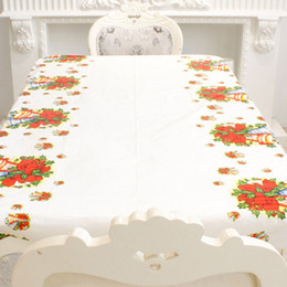 $enCountryForm.capitalKeyWord Australia - New Christmas Disposable Tablecloth Cartoon Design High Quality Products Christmas Party Activities Home Decoration