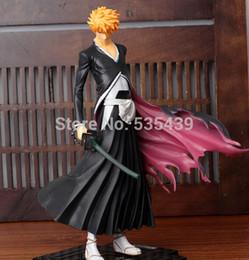$enCountryForm.capitalKeyWord Australia - NEW HOT ! 1pcs 22CM Japana anime Bleach pvc Kurosaki Ichigo action figure toys tall.Promotion price for Bleach fans