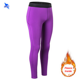 women running pants NZ - Winter Spring Compression Pants Women High Elastic Running Skin Tights Thermal Trousers Fitness Yoga Leggings Quick-Drying Pants