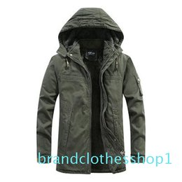 plus size clothing for sale UK - Fashion Mens Plus Velvet Jacket for Winter New Men Hot Sale Outdoor Casual Jackets Coat High Quality Plus Size Jacket Clothing Size M-4XL