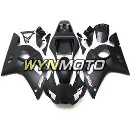 $enCountryForm.capitalKeyWord UK - Matte Black Sportbike Covers Panels For Yamaha YZF-600 R6 Year 1998 99 00 01 2002 Complete Fairing Kit Brand New Blue Black Plastic Cowling