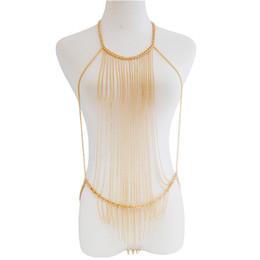 $enCountryForm.capitalKeyWord UK - 1 Pc Fashion Sexy Body Chain Harness Crossover Belly Waist Bikini Beach Slave Fashion Jewelry Summer Wear Nice Gift