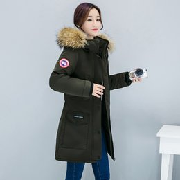 Wholesale Fashion-Autumn and winter new women's thick cotton coat Slim fashion large fur collaize student cotton clothesDown padded Girls