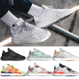 $enCountryForm.capitalKeyWord Australia - Ultra Boost nite jogger jogging flat mens sneakers joggers 3M Reflective training core black white womens trainers tennis running shoes
