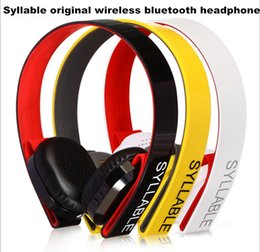 syllable wireless bluetooth stereo headphone NZ - New original Syllable G600 Stereo Bluetooth 4.0 Headphone HIFI headphone wireless earphones headphones with microphone