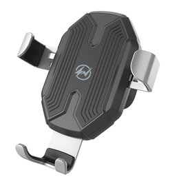 Phone Pads online shopping - 2 In Stable Wireless Charger Universal Fast Qi ABS Air Vent Mount Silicone Pad Driving Automatic Clamping Car Phone Holder