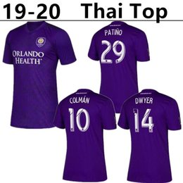 2a56e6196 Discount orlando city jerseys - 2020 MLS Club Orlando City home Soccer  Jerseys 19 20