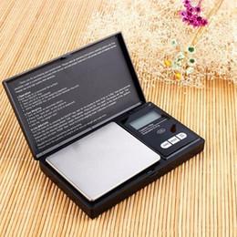 Escala de la joyería 100/200/300 / 500g x 0.01g 1000g x 0,1 balanza digital electrónica de la escala del bolsillo de alta precisión exacta Escalas de la cocina IIA78 en venta