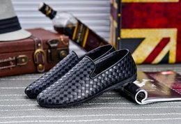 mens smoking slippers Australia - New luxury stylist casual shoes men designer men business shoes Smoking Slipper, mens women designer slides mens designer slides F605