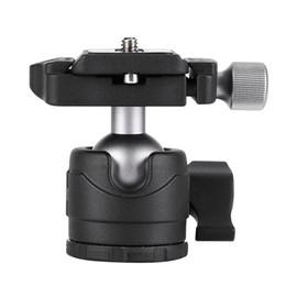 Dslr Camera Stand Tripod Australia - H-28 Low Gravity Tripod Gimbal DSLR Camera Ball Head Holder Stand Hot Sell