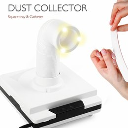 2017 nail designs 60W New Strong Nail Dust Collector Suction Dust Cleaner Retractable Elbow Design Fan Nail Vacuum Cleaner Vacuum
