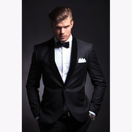 $enCountryForm.capitalKeyWord Australia - Fashion men suit 2019 slim fit men suits latest coat pant design wedding party blazer groom tuxedos costume homme JACKET+PANTS T190910