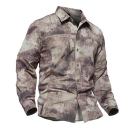 $enCountryForm.capitalKeyWord Australia - camouflaged shirt jersey for fishing quick dry tactical shirt for men fishing shirts long sleeve