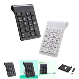 $enCountryForm.capitalKeyWord Australia - New Portable 2.4G Wireless Digital Keyboard USB Number Pad 18 Keys Mini Numeric Keypad For Laptop PC Notebook Desktop