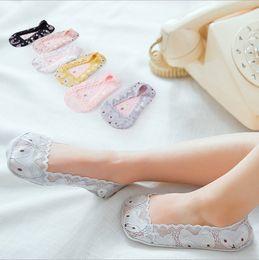 Free design socks online shopping - Children summer socks latest design cartoon fox lace thin kids girl summer princess socks