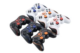 Playstation Wireless Controller Charge Australia - Bluetooth Controller for PlayStation 3 PS3 Wireless Gamepad Joystick USB Charge Cable for PS 3 Controller Double Motor Vibration