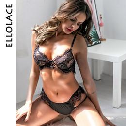 wholesale Sexy Lingerie women transparent bra and panty set lace hot  underwear adjusted straps lingerie female 2019 fashion sale 3c17498cd