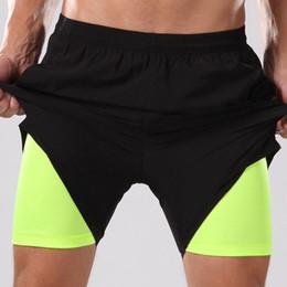 $enCountryForm.capitalKeyWord Australia - 2 in 1 gym shorts for men running gym fitness compression underwear quick dry running training shorts basketball mens