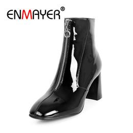 12705a38324 Causal señaló los zapatos online-ENMAYER Botas de Tobillo para Mujer Tamaño  34-39