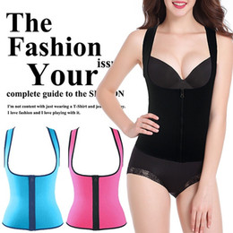 corsets suits NZ - NEW ipper Women Sweat Enhancing Waist Training Corset Waist Trainer Sauna Suit Hot Shaper Sport Vest Slim_Dream,S-XXXL Both Sizes are Wearab