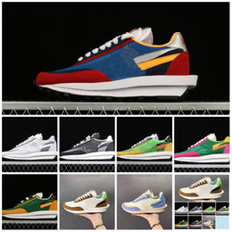 Sizes For Shoes NZ - New Sacai LDV Waffle Daybreak Trainers Mens Sneakers For Women fashion designer Breathe Tripe S Sports Running Shoes Size With Box 22