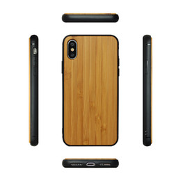Nature Iphone Australia - For XR XS Xmax Wooden Mobile Phone Cover Nature Wood With Round edge TPU Case Good Hand Feeling For Iphone 7 8 6s plus X Samsung S10 S10e