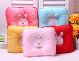 $enCountryForm.capitalKeyWord Australia - 6 Colors Baby Cotton Cushion Baby Nursing Pillows Comfortable Cartoon Support Prevent Anti Roll Pillow Flat Head Neck