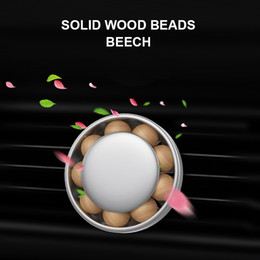 $enCountryForm.capitalKeyWord Australia - Car Styling Car Air Freshener Perfume Diffuser Wooden Beads Solid Flavoring For Vent Clips Perfume Auto Products Accessories