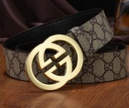 mens designer belt brands 2019 - 2018 New Famous Brand Designer Belts Men High Quality Mens Belts Luxury Genuine Leather Pin Buckle Casual Belt Waistband