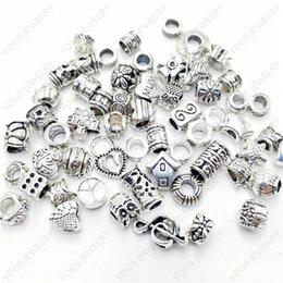 60//100Pcs Tibetan Silver Fishbone Charm Pendants Jewelry Crafts DIY Beads 25*9mm