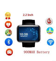 $enCountryForm.capitalKeyWord Australia - DM98 Smart Watch 3G WIFI GPS Android 5.1 OS MT6572A Dual cor CPU 2.2'' Screen 2.0MP Camera 900mAh Battery for Smartphone