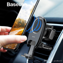air vent magnetic phone holder Australia - Magnetic Car Phone Holder Baseus Gravity Air Vent Mount Magnet Phone Holder Stand for iPhone X Samsung Mobile Phone Holder