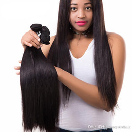 $enCountryForm.capitalKeyWord Australia - Elibess Grade 10A--100% Human Virgin Hair Silk straight Hair Bundle with double weft, Best Quality No tangle & no shedding, Free DHL