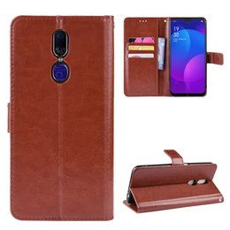 oppo wallet Australia - Oppo F11 Case Oppo A9 Wallet Style Glossy PU Leather Flip Back Cover For Oppo F11 CPH1911 CPH1913 F 11 A 9 Phone Cases