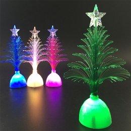 $enCountryForm.capitalKeyWord Australia - 2019 Artificial Christmas Tree dazzle Hot Merry LED Color Changing Mini Christmas Xmas Tree Home Table Party Decor Charm