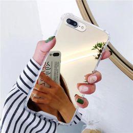 Опт Зеркало Телефон Чехол Для Samsung Galaxy S10 Симпатичные Мягкие ТПУ Противоударный Чехол Для Samsung Note 9 8 S8 S9 S10E Plus Чехол