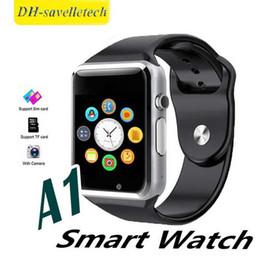 $enCountryForm.capitalKeyWord Australia - 2019 A1 Bluetooth Mens Business Smart Watch support SIM Card Slot Health Watchs Smartphone Sport Bracelet Smartwatch