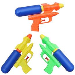 Kids Pistol Guns Australia - Summer Holiday Kids Water Guns Toy Classic Outdoor Beach Water Pistol Blaster Portable Squirt Gun Toys For Children Games