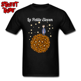 prince tee shirts NZ - Tshirt Of Stranger Things Man T Shirts The Little Eleven T-shirt 2019 Funny Tops Little Prince Waffle Moon Comic Tees Cotton 3D