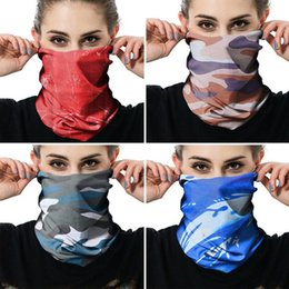Wholesale Magic Headscarf Mask Camouflage Headscarf Face Mask Outdoor Riding Cycling Sports Seamless Sunscreen Face Towel Ski