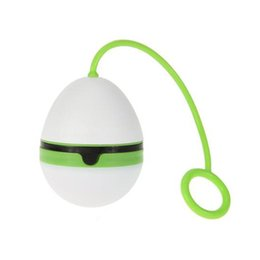 egg shape lamp UK - Egg Shape Led Tent Light Portable Fishing Boating Camping Lamp Outdoor Hanging Lamp